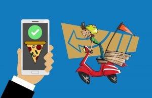 app mobile android consegne domicilio